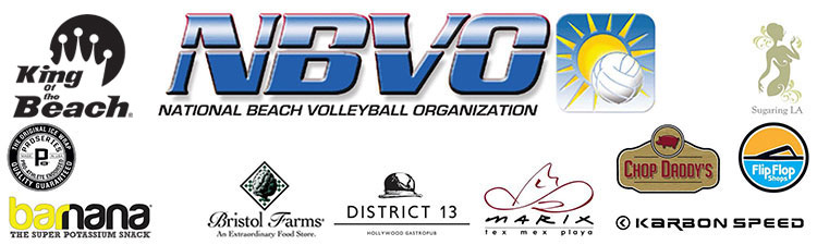 nbvo national beach volleyball organization